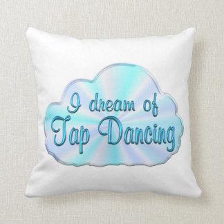 Tap Dancing Dreamer Throw Pillows