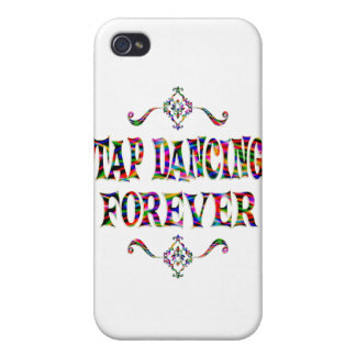 Tap Dancing Forever iPhone 4/4S Cases
