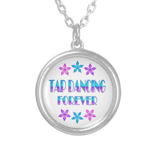 Tap Dancing Forever Personalized Necklace