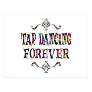 Tap Dancing Forever Postcard