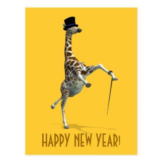 Tap Dancing Giraffe Postcards