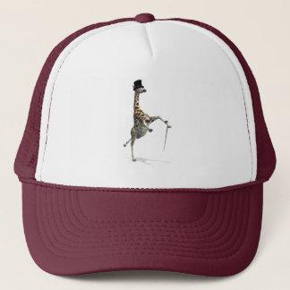 Tap Dancing Giraffe Trucker Hat