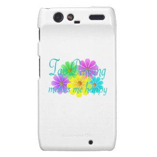 Tap Dancing Happiness Flowers Motorola Droid RAZR Case