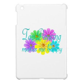 Tap Dancing Happiness Flowers iPad Mini Cases