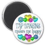 Tap Dancing Happiness Fridge Magnets