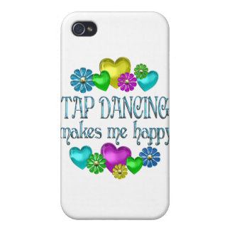 Tap Dancing Happiness iPhone 4 Cases