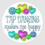 Tap Dancing Happiness Sticker