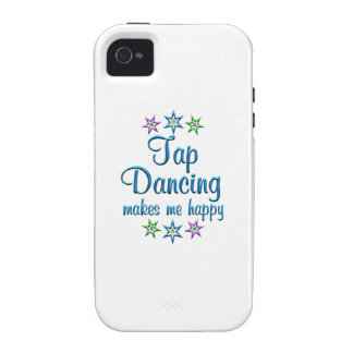 Tap Dancing Happy iPhone 4 Cover