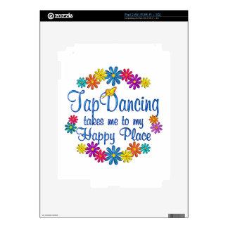 Tap Dancing Happy Place iPad 2 Decals
