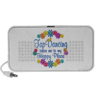 Tap Dancing Happy Place Mini Speaker