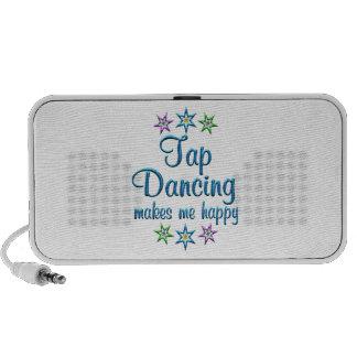 Tap Dancing Happy Notebook Speakers