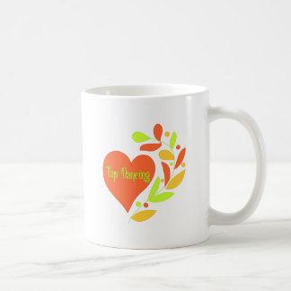 Tap Dancing Heart Coffee Mug