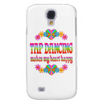 Tap Dancing Heart Happy Galaxy S4 Covers