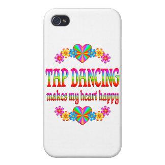 Tap Dancing Heart Happy iPhone 4/4S Case