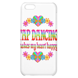 Tap Dancing Heart Happy iPhone 5C Covers