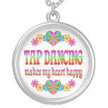 Tap Dancing Heart Happy Pendants