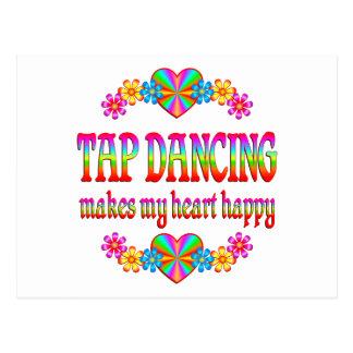 Tap Dancing Heart Happy Postcards
