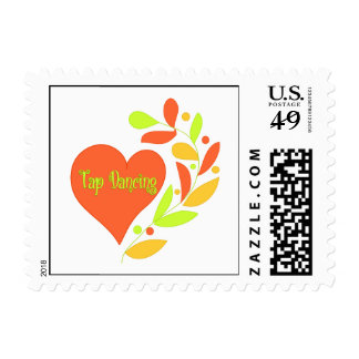 Tap Dancing Heart Postage