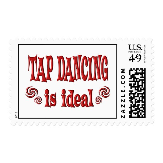 Tap Dancing is Ideal Postage