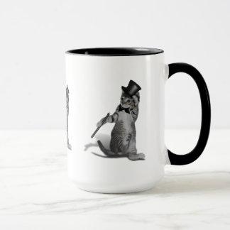 Tap Dancing Kitten Mug
