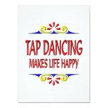 Tap Dancing Makes Life Happy Announcement