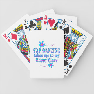 Tap Dancing My Happy Place Bicycle Playing Cards