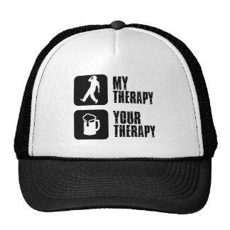 tap dancing my therapy trucker hat
