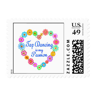 Tap Dancing Passion Postage