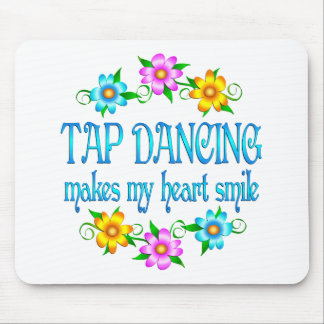 Tap Dancing Smiles Mouse Pad
