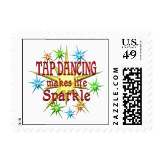 Tap Dancing Sparkles Postage
