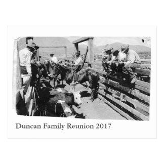 Tap Duncan Reunion Postcard
