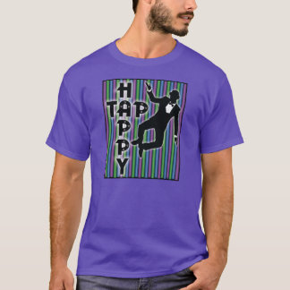 Tap Happy T-Shirt with Stripes