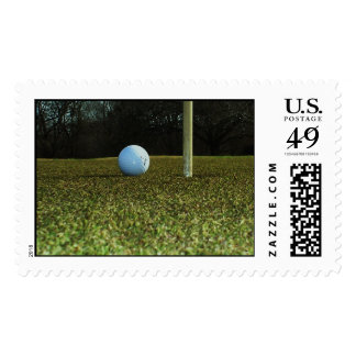 """""""Tap In Putt"""" Postage Stamps"""