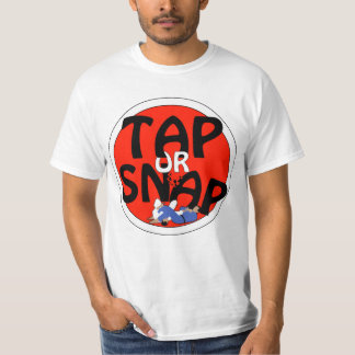 tap or snap red T-Shirt