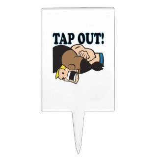Tap Out Cake Toppers