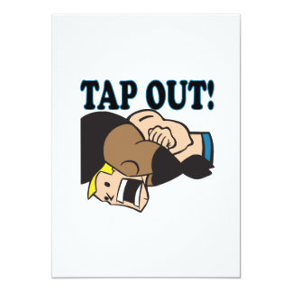 Tap Out Card