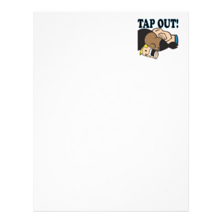 Tap Out Customized Letterhead