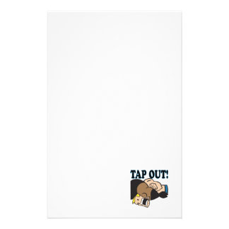 Tap Out Customized Stationery