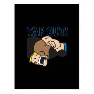 Tap Out Postcard