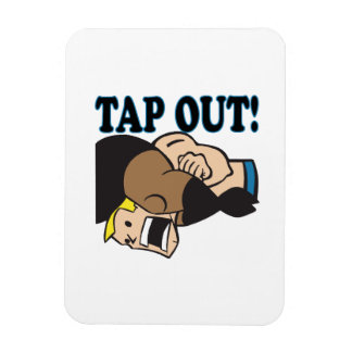 Tap Out Rectangular Magnet