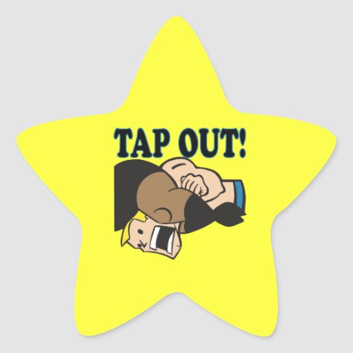 Tap Out Stickers