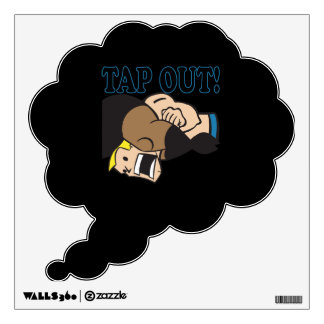 Tap Out Wall Decal