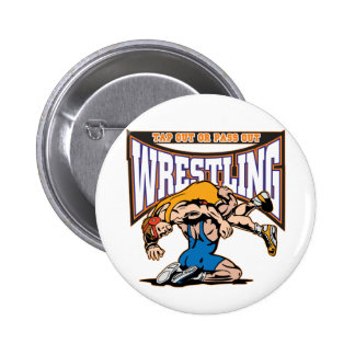 Tap Out Wrestlers Pin