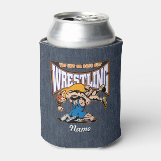 Tap Out Wrestlers Can Cooler