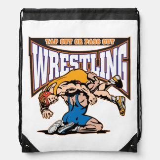 Tap Out Wrestlers Drawstring Bag