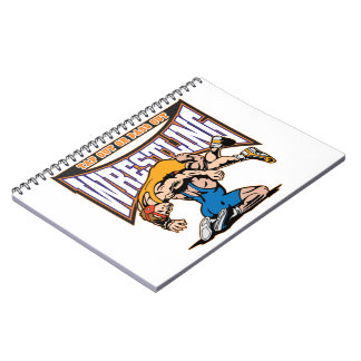 Tap Out Wrestlers Spiral Notebooks