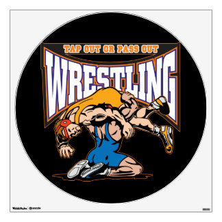 Tap Out Wrestlers Room Decal