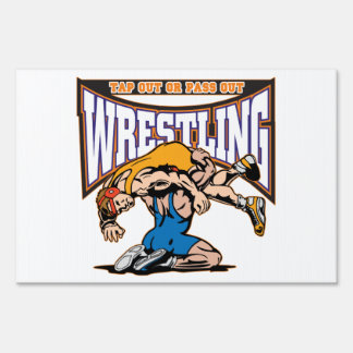 Tap Out Wrestlers Signs