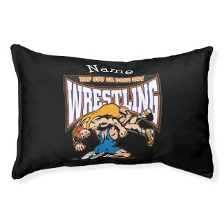 Tap Out Wrestlers Small Dog Bed