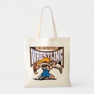 Tap Out Wrestlers Tote Bag